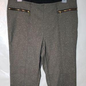 Rafaella Comfort Pull On Print Skinny Pants Sz12P